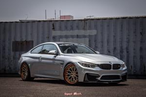 BMW M4 Coupe on Vossen Wheels (S17-01 (3-Piece)) 2019 года